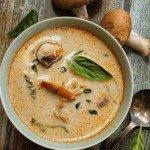 Thai Shrimp & Coconut Soup