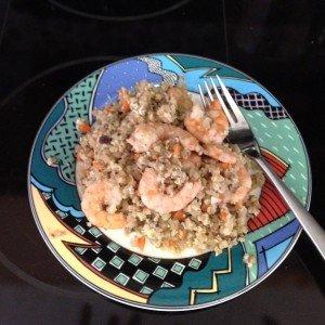 "Shrimp Fried ""Rice"""