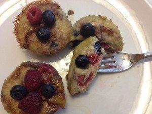 Soufflé Muffins done