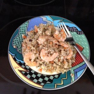 "Shrimp Fried ""Rice"""