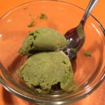 Green-Tea Avocado-Coconut Ice Cream