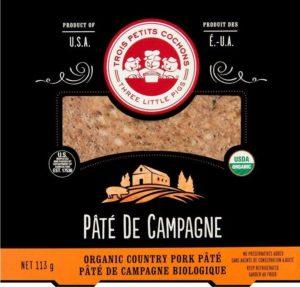 Organic Pâté de Campagne