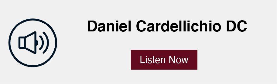 Daniel Cardelliichio podcast link